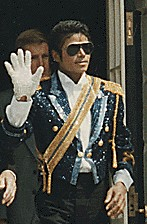 Michael Jackson in 1984